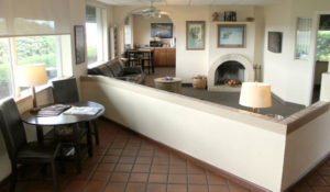 Our FBO lobby is warm and inviting